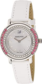 Swarovski Playful Lady Women's Silver Dial Leather Band Watch - 5243053