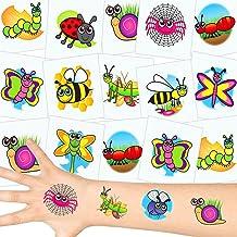 German Trendseller® - 12 x Tatuajes temporales pequeños escarabajos┃ Fiestas Infantiles┃ Idea de Regalo┃piñata┃cumpleaños de niños┃ 12 Unidades…