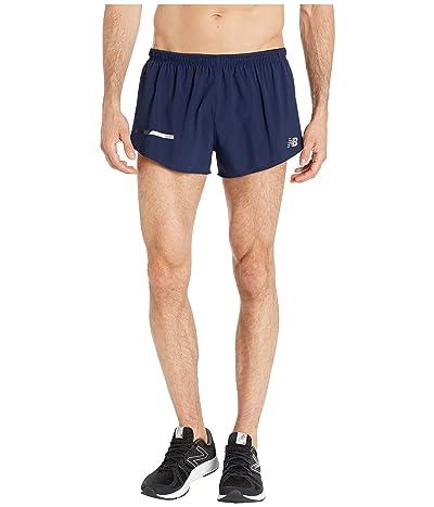 New Balance Impact Split Shorts 3 (Pigment) Men