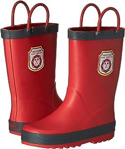 Firefighter Rain Boots (Toddler/Little Kid)