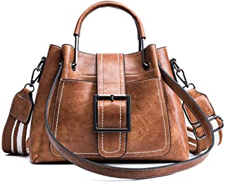 Womens Handbag Large Capacity, PU Leather Satchel Purse, Tote Crossbody Shoulder Bag