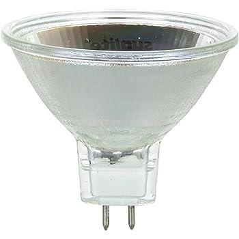 Sunlite 50MR16//FL//12V//CD1 50-Watt Halogen MR16 GU5.3 Based Carded Mini Reflector Bulb