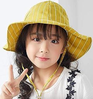 (ピピノワ) pipinowa キッズ 帽子 つば広 女の子 ハット 軽量 日よけ 対策
