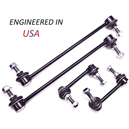 4 Pc Suspension Kit for Nissan Altima Maxima Front /& Rear Sway Bar End Links
