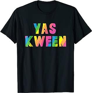 Yas Kween City Shirt Rainbow Colors Yass Queen