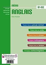 Livres Mémo Anglais B1-B2 (lycée) - édition 2016 PDF