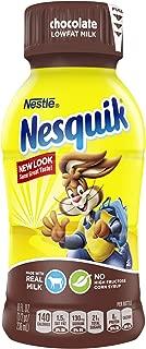 NESQUIK Ready to Drink Low Fat Chocolate Milk, 8 fl oz