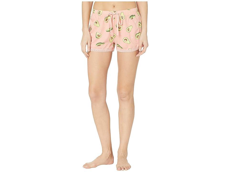 P.J. Salvage Playful Shorts (Coral) Women