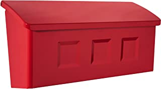 Architectural Mailboxes 2689R Wayland Wall Mount Mailbox, Small, Red
