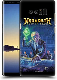 Official Megadeth Rust in Peace Album Cover Key Art Hard Back Case Compatible for Samsung Galaxy Note8 / Note 8