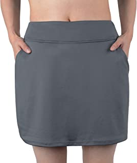 slimour Women Causal Travel Skirt with Pockets Athletic Skorts Hiking High Waist Active