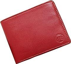 wildmount Men's Leather Wallet (Red)