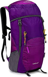 Lightweight Packable Hiking Backpack 40L Travel Camping Daypack Foldable