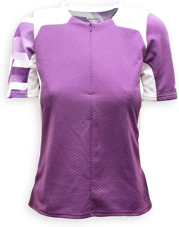 Scott Women's Sumita Cycling Jersey, Lavender (XSmall)