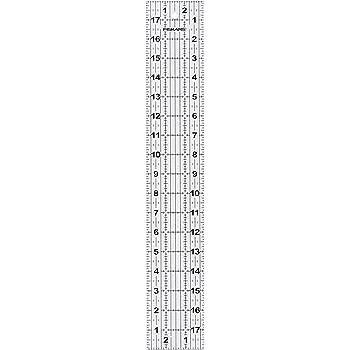Fiskars 3x18 Inch Acrylic Ruler (187640-1001)