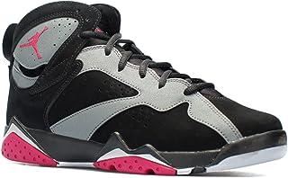 7f37c0c56685a6 Nike Boys Air Jordan 7 Retro GG Sport Fuchsia Black Sport Fuchsia-Cool Grey