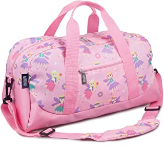 Wildkin Kids Overnighter Duffel Bag for Boys and Girls, Carry-On Size and Perfect for After-School Practice or Weekend Ove...