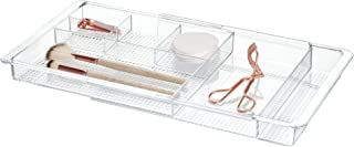 InterDesign Clarity Extendable Cosmetics Organiser, Clear