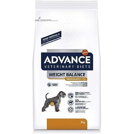 ADVANCE Veterinary Diets Weight Balance Medium/Maxi - Pienso Para Perros Adultos Con Problemas De Sobrepeso De Razas Medianas y Grandes - 12 kg