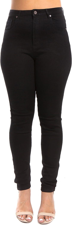 Women's Plus-Size Basic Slim Fit/Distressed Skinny Fit Jeans (1XL~3XL)