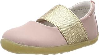 Bobux SU Demi Ballet Shoe Shimmer, Ballerines fermé, Blush Ivoire, 21 EU