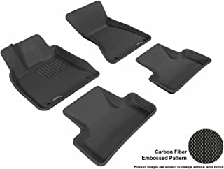 3D MAXpider L1AD00901509 Custom Fit All-Weather Kagu Series Floor Mats Black Complete Set for Audi Q5 Models