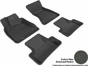 3D MAXpider L1AD00901509 Custom Fit All-Weather Kagu Series Floor Mats Black Complete Set for Audi Q5 Models