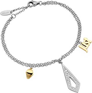 Just Cavalli Stainless Steel Chain Bracelet for Women, JCBR00390300