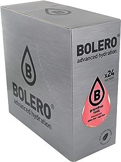 Bolero Bebida Instantánea Sin Azúcar, Sabor Tonica con Pomelo - Paquete de 24 x 9 gramos - Total 216 gramos