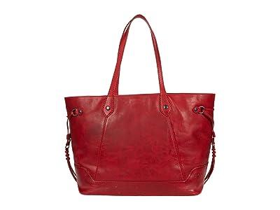 Frye Melissa Large Carryall (Red) Handbags