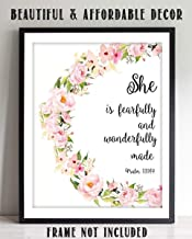 Best she is fearfully and wonderfully made Reviews