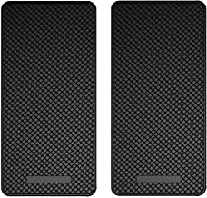 Ganvol 2 Pack Premium Anti-Slip Car Dash Sticky Pads 5.3 x 2.7 in, Cell Phone Dashboard Holder, Radar Detector Non-Slip Mat, Heat Resistant, Don't Stink, Leave no Residue