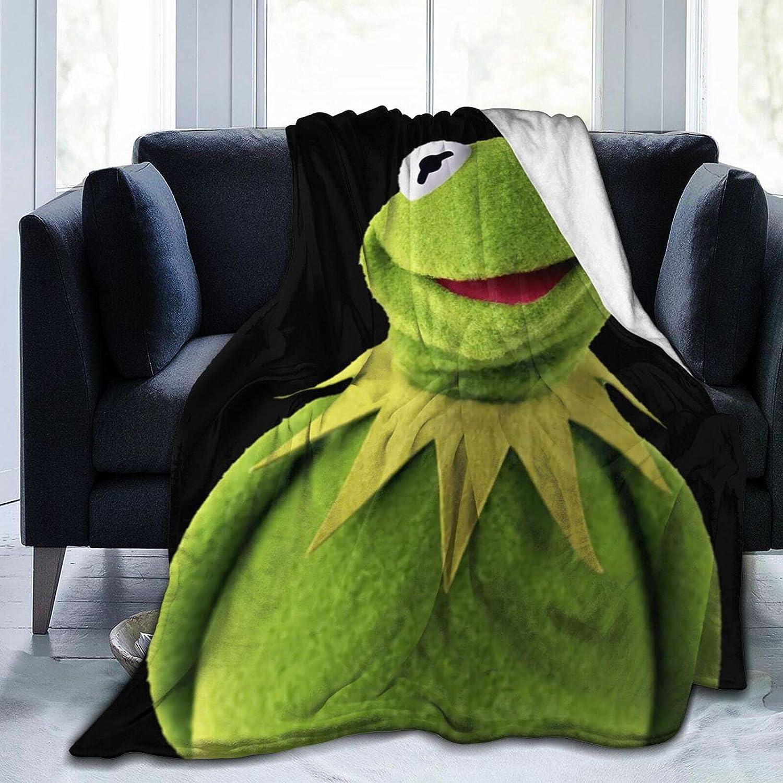 NaohBent Ranking TOP16 Kermit The Frog Soft Blanket New 1 year warranty Quilt Women Men Winter