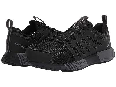 Reebok Work Fusion Flexweave Cage Composite Toe (Black/Grey) Men