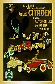 HMMY Plaque en m/étal D/écoration Vintage Plaques en m/étal Accueil Garage D/écor Voiture Moto Licence signees Stickers Muraux D/écoratif Outils Cadeau 15X30 Cm