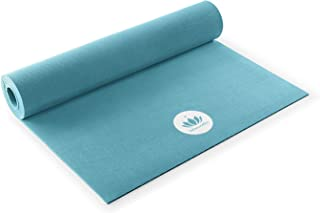 Lotuscrafts Rubber Yoga Mat Oeko - 100% Natural and Ecological - Eco Friendly Yoga Mat Non Slip - Non Toxic Yoga Mat Rubber - Yoga Mat for Home and Gym - Ideal for Dynamic Yoga [72