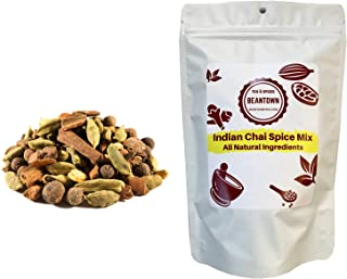 Beantown Tea & Spices - Indian Chai Spice Mix. Make Your Own Chai. Classic Blend of Chai Spices. (4 oz. (50 Servings))
