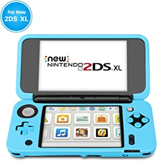 TNP Silicone Case Compatible with New Nintendo 2DS XL LL - Soft Rubber Protective Grip Cover Sleeve Game Console Skin Guar...