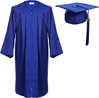 Newrara Graduation Gown Cap Tassel Set