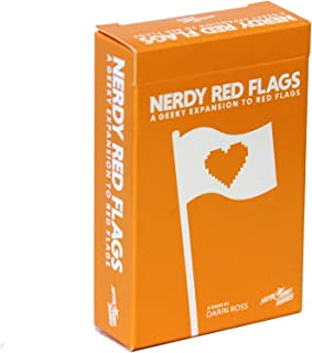 Skybound RED Flags: Card Game from Entertainment: The Nerdy Expansion
