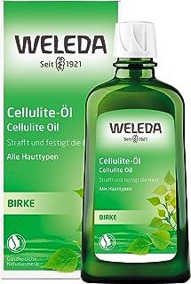 WELEDA Birken Cellulite-Öl, straffendes Naturkosmetik Körperöl für neue Spannkraft..