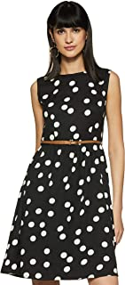 Miss Olive Crepe Skater Dress