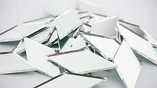 2 Inch Diamond Shape Mirror Mosaic Tile. 25 pcs