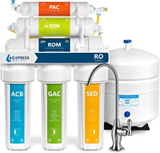 Express Water Deionization Reverse Osmosis Water Filtration System – 6 Stage RO DI..
