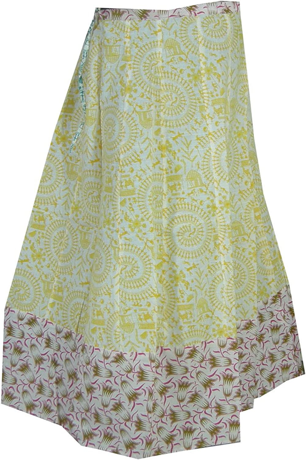 Panini Impex Printed Womens Cotton Skirt India Summer Clothing