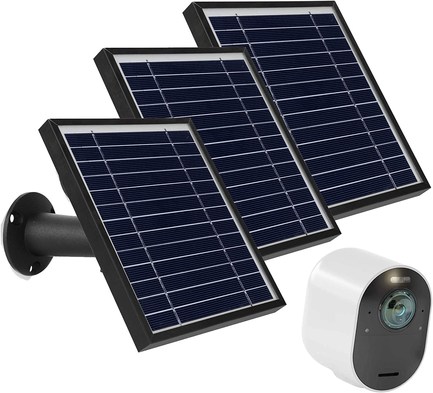 Uogw 3W Superior New arrival 6V Solar Panel Charge for 3 Ul Pro Arlo Ultra 4