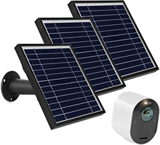Uogw 3W 6V Solar Panel Charge for Arlo Pro 3/Pro 4/Arlo Ultra/Ultra 2, with11ft Waterproof Magnetic Power Cable, Adjustabl...