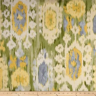 Robert Allen 0573523 @ @ Home Ikat Reflect Leaf Fabric by the Yard