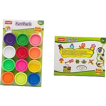 Funskool-Fundough Fun Pack + Fundough Gift Set