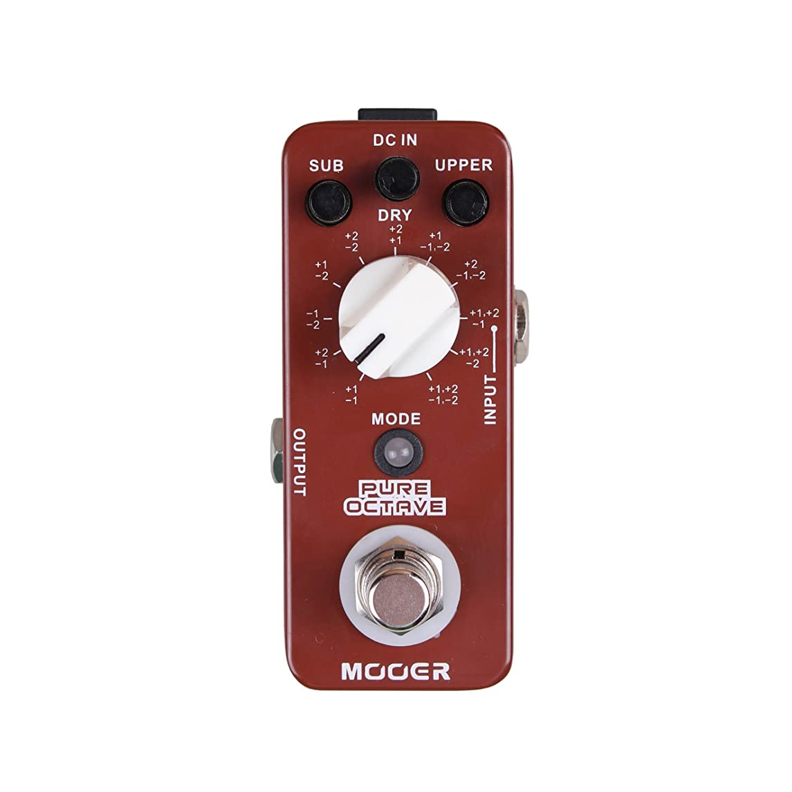 Mooer EQ Effects Pedal, 2.25 x 4.25 x 1.75